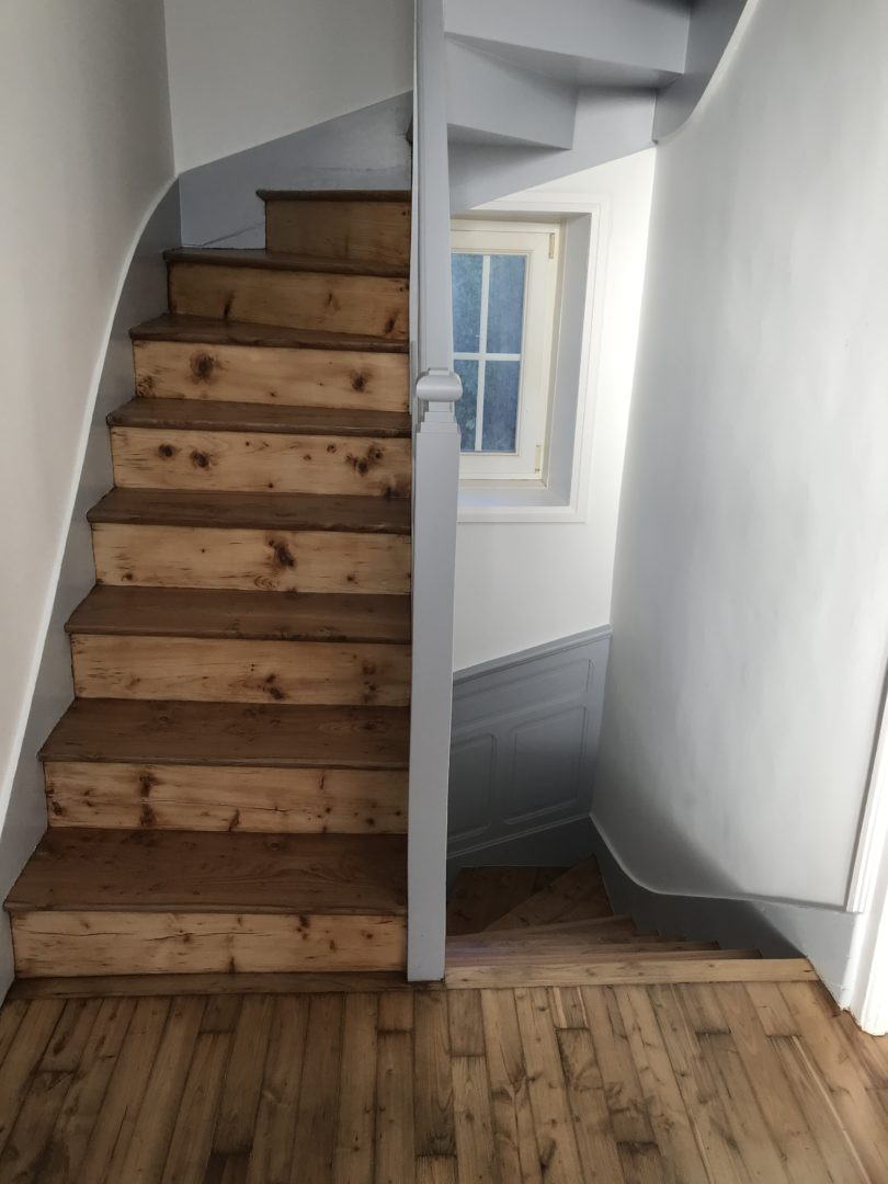 Interventions renovation descalier - Escalier