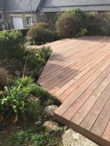 terrasse pose renovation bois composite